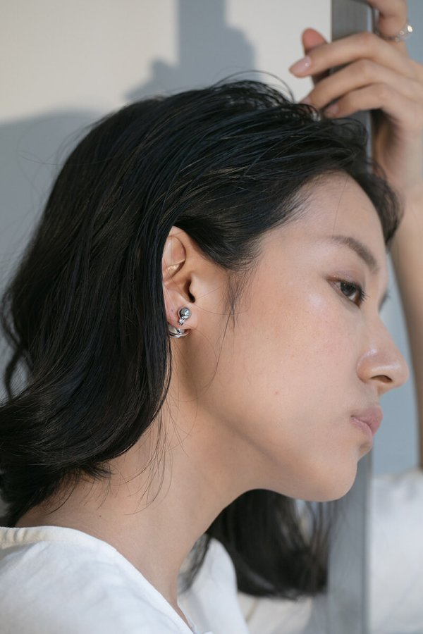 CLAUDIA EARRING/SILVER