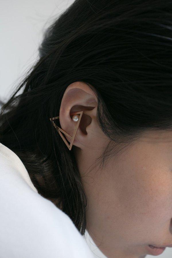 KENZA EARRING/ROSEGOLD
