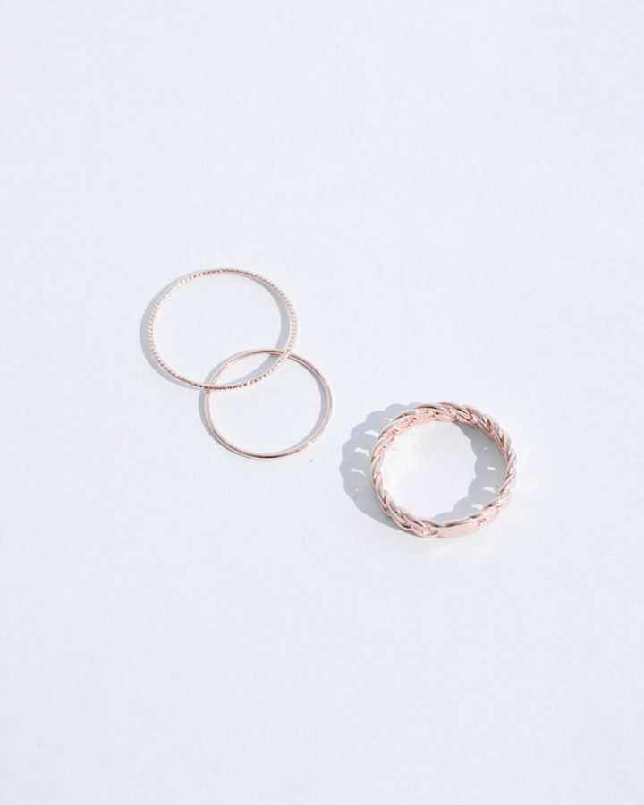 ROSEGOLD GRAND RINGS