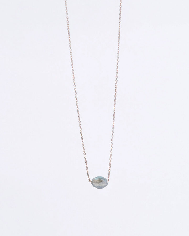 ROSEGOLD MONO COLDMETE NECKLACE