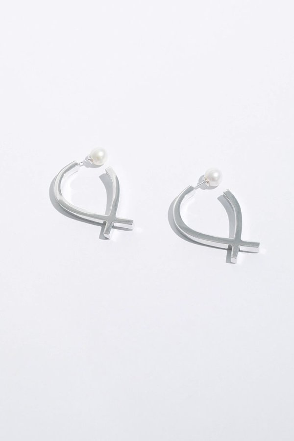 AZZURRA EARRINGS/SILVER