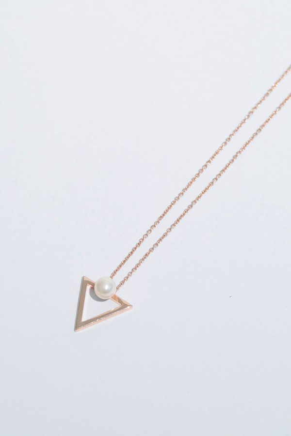 KHOLE NECKLACE/ROSEGOLD