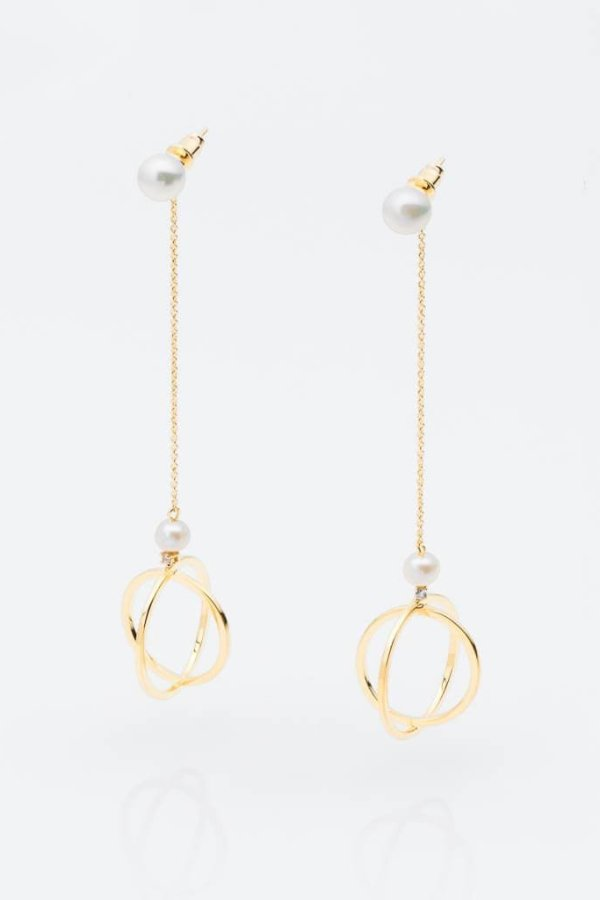 OCTAVIA EARRINGS/GOLD